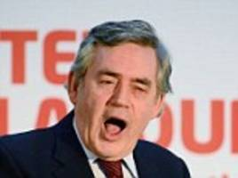 Ex PM Gordon Brown bids for Scotland to be 'equal partners' with England and raise own taxes even if independence is rejected