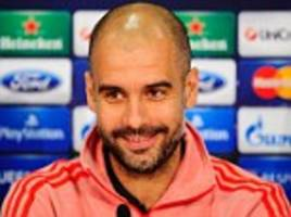 Bayern boss Guardiola won't let his side become complacent ahead of Champions League clash against Arsenal