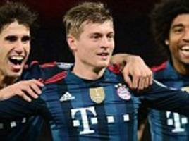 Boost for Manchester United as Bayern Munich midfielder Toni Kroos hints at Premier League move