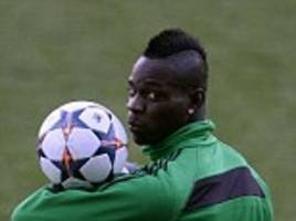 mario balotelli back in the starting xi to help ac milan overcome 1-0 deficit to atletico madrid