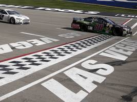 nascar's new point system leads to crazy finish at las vegas race