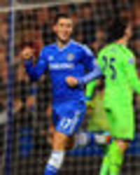 Chelsea's Eden Hazard toes the party line: Man City are favourites for the Premier League