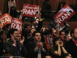 the cpac wedding, and how the 'liberty movement' are acting just like 'obama zombies'