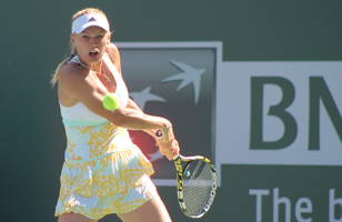 Caroline Wozniacki Survives at Indian Wells Marathon