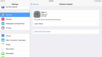 iOS 7.1 is here, download it immediately