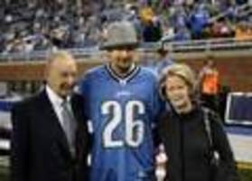 William Clay Ford's wife, Martha, takes over as Lions owner