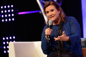 star wars episode 7: carrie fisher to film episode vii for 6 months, bigger role for princess leia?